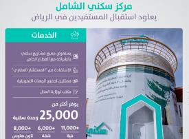 مركز سكني الشامل بالرياض يعاود فتح أبوابه للمواطنين