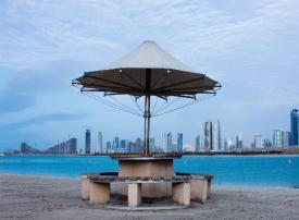دبي:  إعادة فتح ممشى شاطئ الممزر