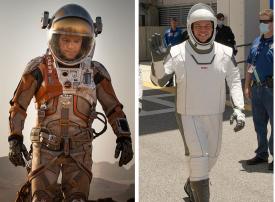 شاهد أول  رحلة فضائية لناسا منذ تسع سنوات