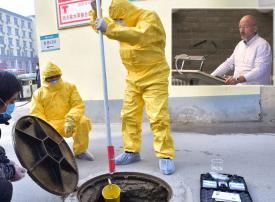 خبير بريطاني: فيروس كورونا المستجد كان خاملا حول العالم ولم ينشأ في الصين والمياه تنقله