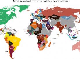 السعوديون يرغبون بالسفر لإيطاليا والإمارات تتصدر البحث على غوغل لأكثر وجهات السفر المطلوبة
