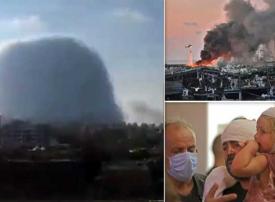 لقطات من فيلم وثائقي يعرض لقطات صادمة لانفجار مرفأ بيروت