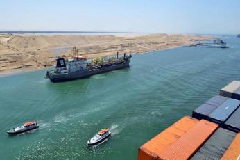 انخفاض إيرادات قناة السويس إلى 5.72 مليار دولار