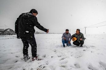 ثلوج يحملها المنخفض الجوي «كريم» لدول في الشرق الأوسط
