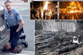 اتهام ضابط شرطة في منيابوليس بقتل رجل أسود أثناء اعتقاله بعد احتجاجات