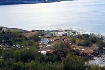 شاهد البحر يبتلع قرية نرويجية