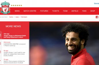 محمد صلاح يحصل على أعلى راتب بحسب تقديرات لرواتب لاعبي ليفربول