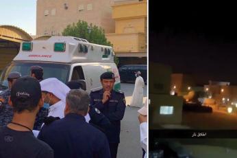 شاهد  مقتل مسلح انتحارا في الكويت بعد تبادل إطلاق النار مع أفراد من القوات الخاصة