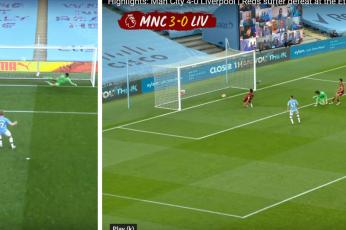 هزيمة ليفربول 4-صفر أمام مانشستر سيتي