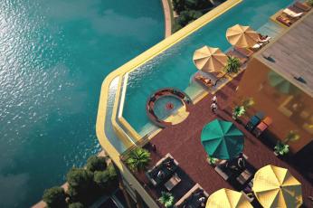 شاهد لقطات لفندق بذهب عيار 24