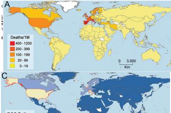 وفيات كورونا المستجد ترتبط بسياسة الدول الصحية مع لقاح السل بحسب دراسة جديدة
