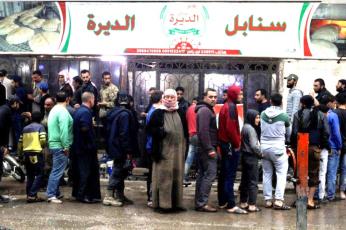 أزمة خبز في سوريا  مع اشتداد حصار العقوبات الأمريكية الجديدة