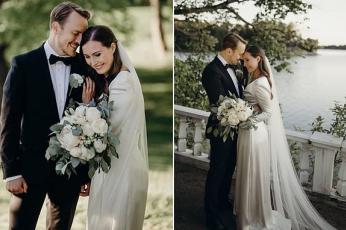 زواج  سانا مارين أصغر رئيسة حكومة في تاريخ فنلندا