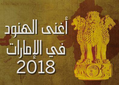 قائمة أغنى الهنود في الإمارات 2018