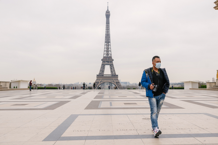 حصيلة الوفيات في فرنسا تتجاوز 23 ألفا