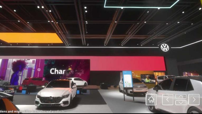 فولكس واجن تقيم معرضاً افتراضياً للسيارات للمرة الأولى