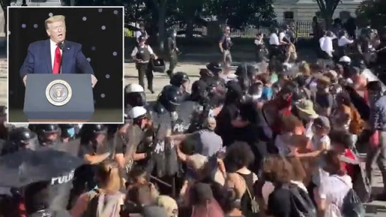 شاهد مدينة مينابوليس تتحول إلى ساحة حرب شوارع