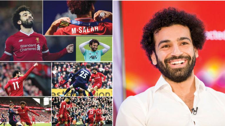 اللاعب المصري محمد صلاح يسحق الرقم القياسي في ليفربول بـ 100 هدف