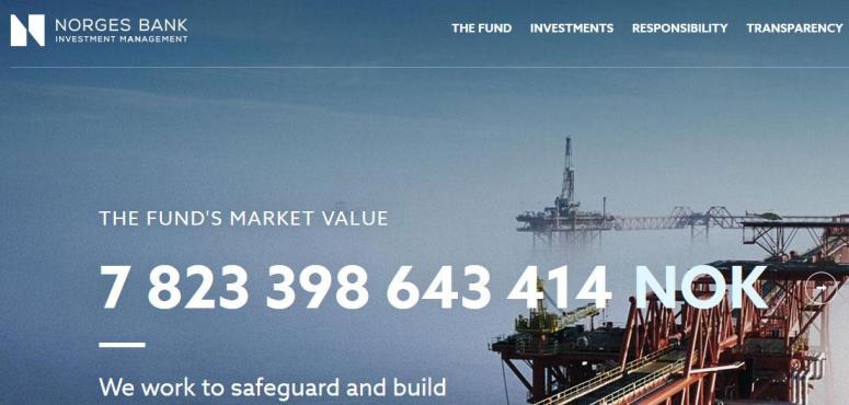 ارتفاع قيمة أكبر صندوق سيادي في العالم لحوالي تريليون دولار