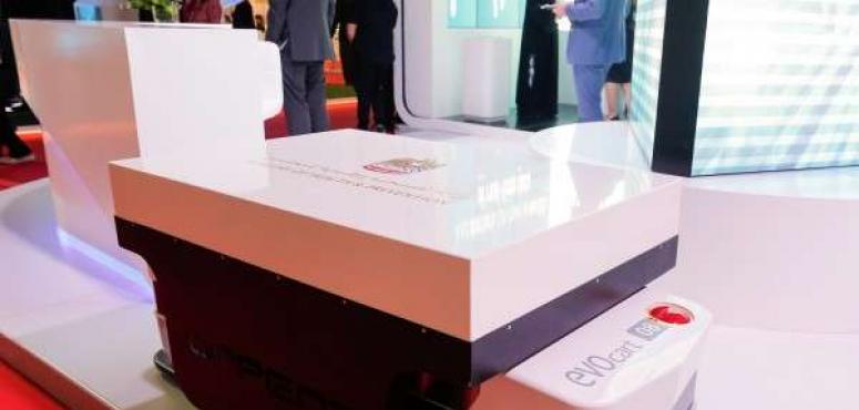 مركبات نقل ذاتية بنظام ملاحة مع الليزر في مستشفيات الإمارات