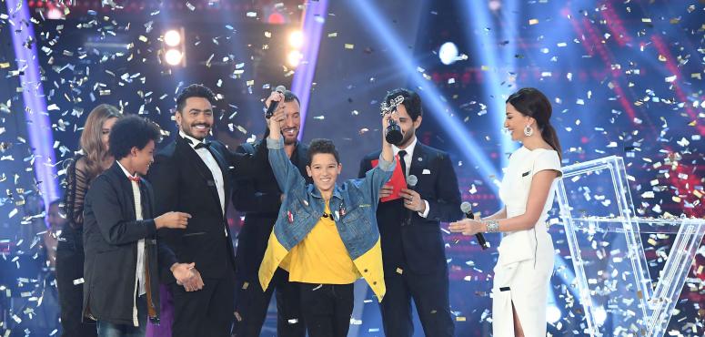 حمزة لابيض يحصد لقب أحلى صوت في الموسم الثاني من The Voice Kids