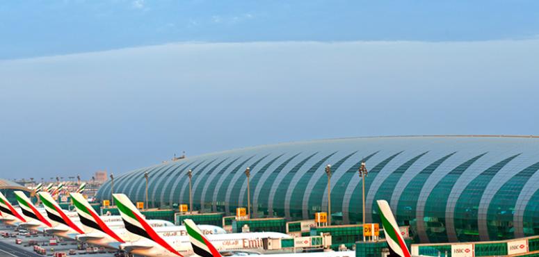 مطار دبي يتصدر قائمة الـ10 مطارات الدولية الأكثر ازدحاما في العالم
