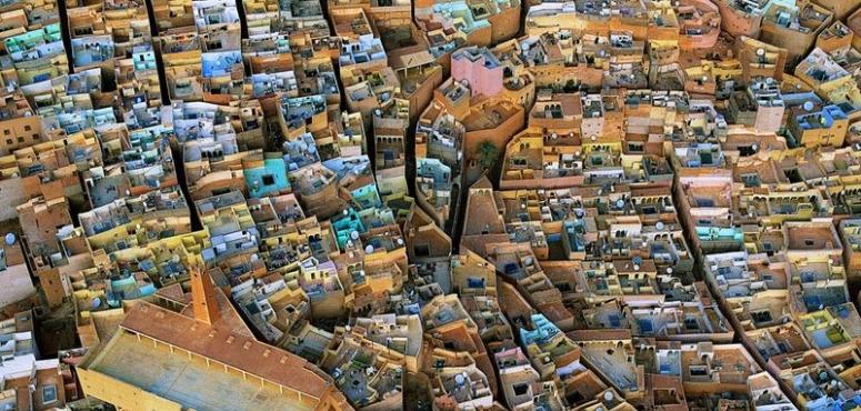مدن وادي ميزاب بالجزائر
