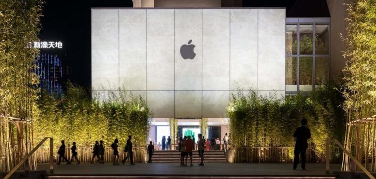 """بالصور: تصميم متجر """"آبل"""" الجديد في الصين"""