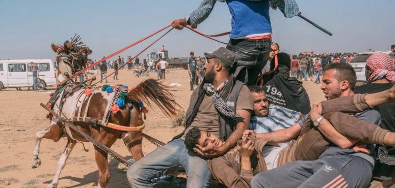 صحيفة تايم الأمريكية تختار صورة 2018 من غزة