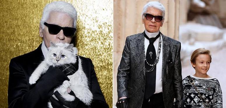 وفاة مصمم الأزياء كارل لاغرفيلد وقطة قد ترث منه 150 مليون دولار
