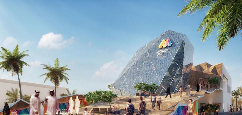بالصور : نظرة على جناح موناكو في معرض إكسبو دبي 2020