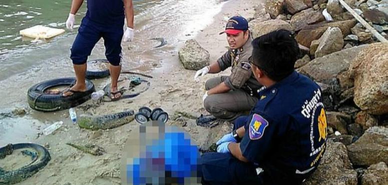 ربطه بعربة ودفع بها إلى البحر .. أردني رهن الاحتجاز بتايلاند بعد قتل ابنه