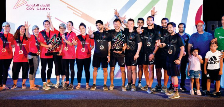 حمدان بن محمد يرفع قيـمة جوائـز  الألعاب الحكومية إلى 3 ملايين درهم