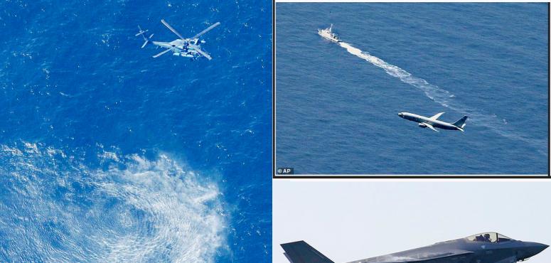 خوفا من الصين وروسيا، سباق محموم  للعثور  على مقاتلة F-35 التي تحطمت قرب اليابان