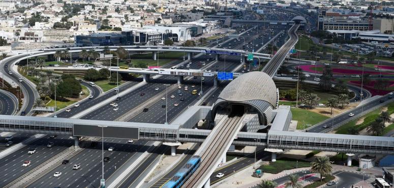 عودة خدمة التنقّل بالمترو بين محطتي مركز دبي للسلع المتعددة وابن بطوطة