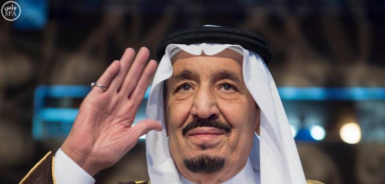 الملك سلمان يغرد بحمد الله في اليوم الوطني للمملكة
