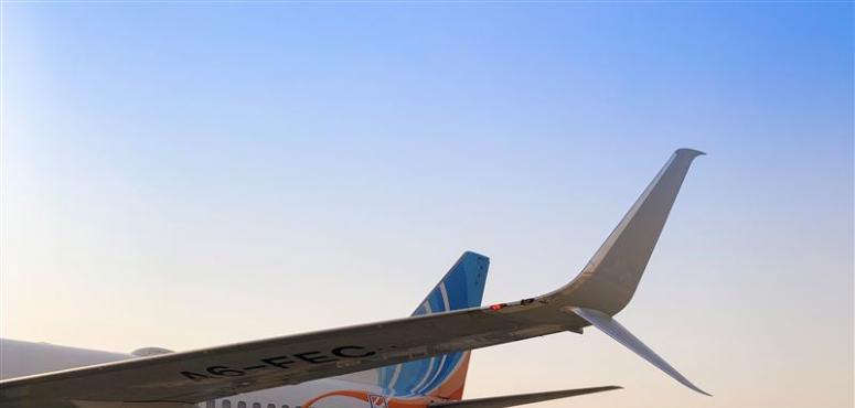 فلاي دبي تزود طائراتها بوينغ 737 الجيل الجديد بتقنية الجنيحات المعقوفة
