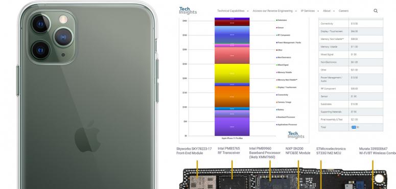 اقل من 500 دولار هي تكلفة تصنيع هاتف أبل الجديد