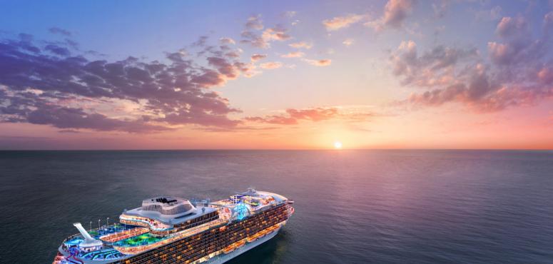 بالصور : نظرة أولى على أكبر سفينة سياحية في العالم