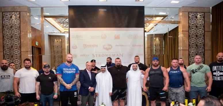 أقوى 20 رجلا في العالم يتنافسون في دبي للتتويج باللقب العالمي