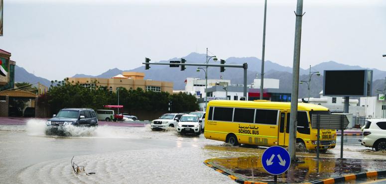 الإمارات: تعميم بشأن حركة الحافلات المدرسية عند اضطراب الأحوال الجوية