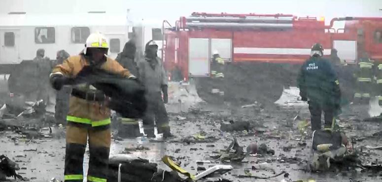 الكشف عن سبب تحطم طائرة فلاي دبي جنوبي روسيا عام 2016