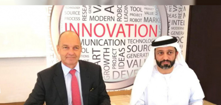 طرق دبي توقع مذكرة تفاهم لتجربة لوحات السيارات الذكية
