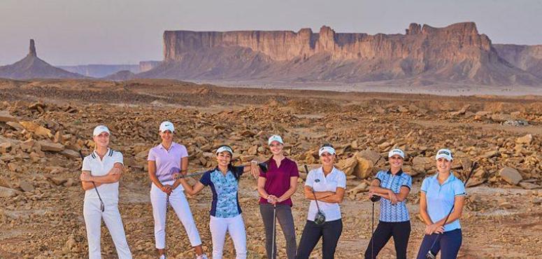 أكثر من 100 لاعبة يتنافسن في بطولة أرامكو السعودية الدولية لجولف السيدات