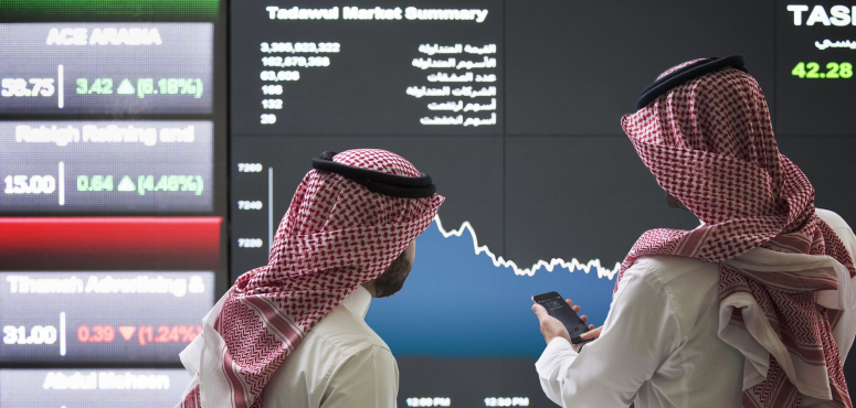 أسواق الخليج تلحق بخسائر الأسواق العالمية بسبب فيروس كورونا