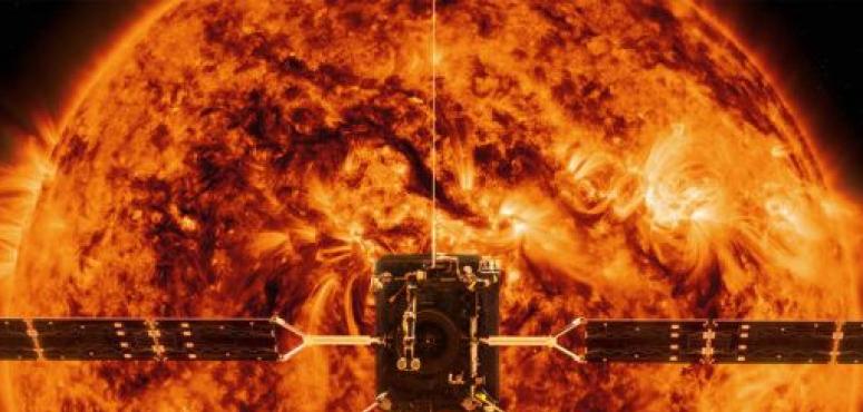 """إطلاق مسبار """"سولار أوربيتر"""" باتجاه الشمس"""