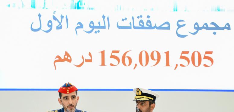 """الإمارات: صفقات اليوم الأول من """"يومكس وسيمتكس"""" تتجاوز 156 مليون درهم"""