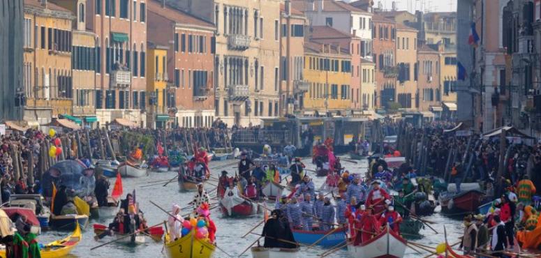 إلغاء كرنفال البندقية في إيطاليا بسبب فيروس كورونا