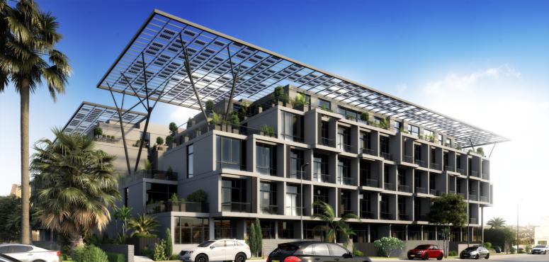 دبي تحتضن أول مبنى للتملك الحر يعمل بالطاقة المتجددة