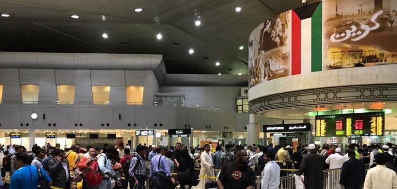 الكويت توقف رحلات الطيران من وإلى 7 دول بينها مصر ولبنان وسوريا